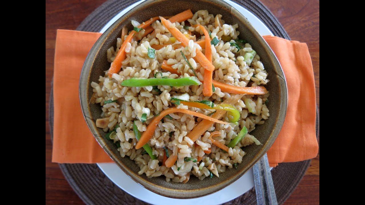 Ensalada de arroz integral the frugal chef youtube - Ensalada de arroz light ...