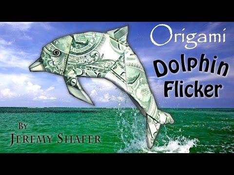 Origami Dolphin Flicker