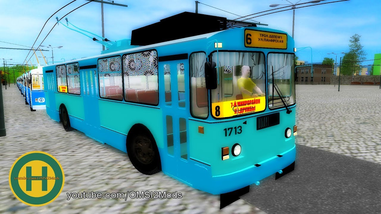 OMSI 2 - Trolley WIP Bratanovo Map