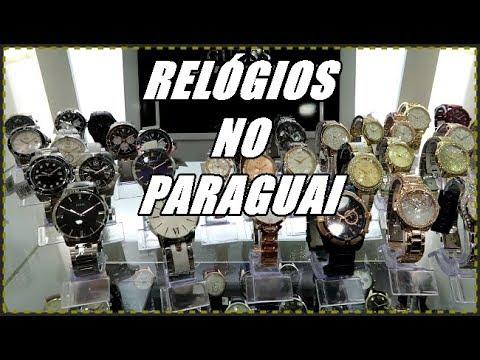RELÓGIOS NO PARAGUAI - ONDE COMPRAR  - YouTube bdb48a3e91