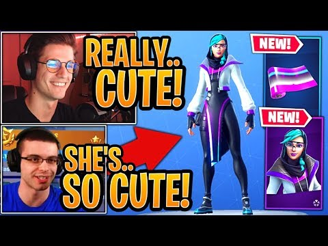 Streamers LOVE The *NEW* Synapse Skin & Hex Wave Wrap! - Fortnite Best Moments