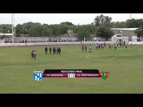 CS. Fernández (F) Vs CA. Independiente (Beltrán)