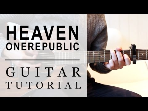 OneRepublic - Heaven | FAST Guitar Tutorial | EASY Chords