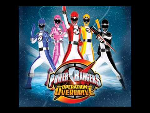 Power Rangers Operation Overdrive Theme Instrumental Mp3