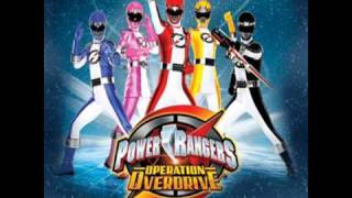 Power Rangers Operation Overdrive Theme Instrumental