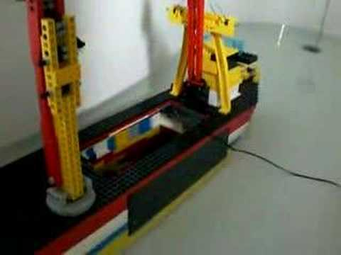 lego Heavy Lift Vessel sailing