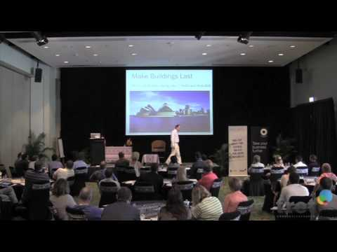 Green Tech answers to global warming: sustainability, carbon, real estate, energy industry keynote