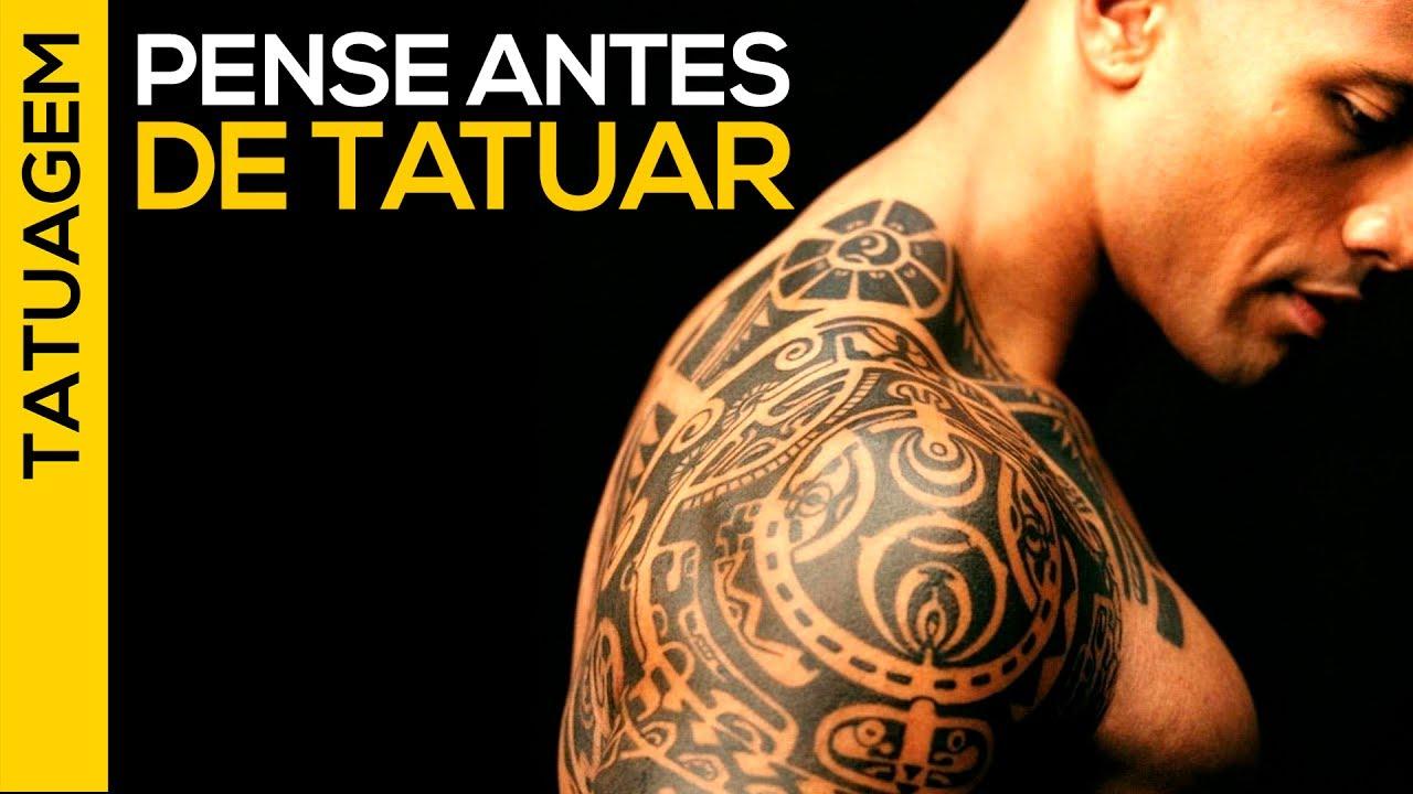 Como Escolher Tatuagem Homem ⚫ 4 coisas para pensar antes de tatuar | tatuagem masculina