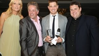 Michael Bublé - Raymond Weil International Award, O2 Silver Clef Awards 2012