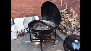 Weber Ranch Kettle Review - Slow 'N Sear Review - BBQ Grill Review
