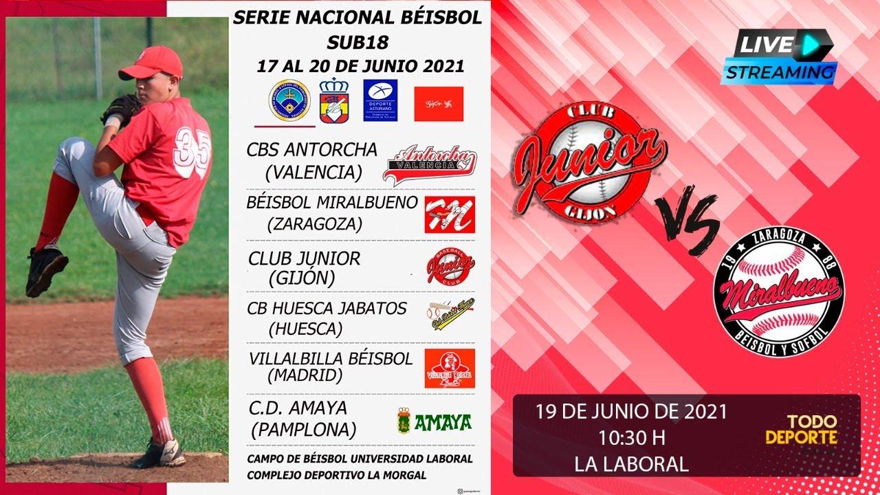 🖥 Directo - CAMPEONATO DE ESPAÑA Beisbol - SUB18 - FINAL