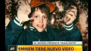 Eminem se disculpa con su madre en Headlights - Telefe Noticias