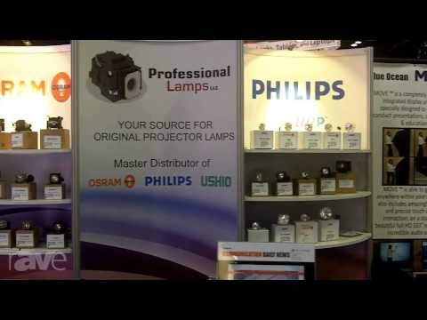 InfoComm 2013: Professional Lamps Overviews Its Services