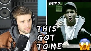Rapper Reacts to Eminem For The First Time!! | WHEN I'M GONE (Official Music Video)