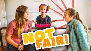 SHE LET ONLY PEYTON SKIP SCHOOL! 😤 NO FAIR...