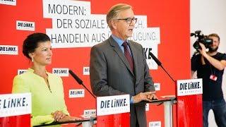 Sahra Wagenknecht und Dietmar Bartsch: »Es gibt eine Alternative in diesem Land - DIE LINKE«