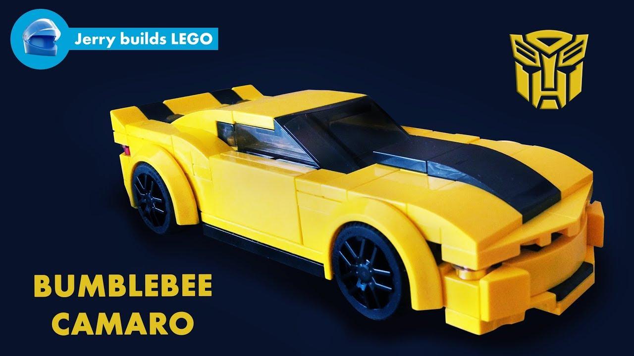 LEGO Bumblebee Camaro instructions (MOC #3) - YouTube