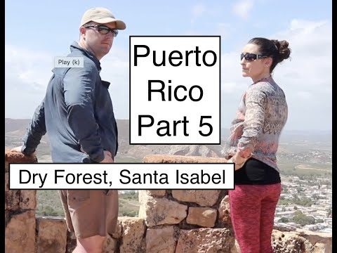 Puerto Rico Part 5: Dry Forest, Fort Capron, Santa Isabel & Off Grid Cabin At