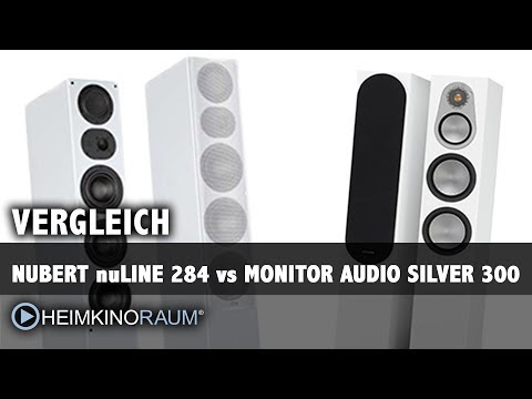 Vergleich: Nubert nuLine 284 vs. Monitor Audio Silver 300