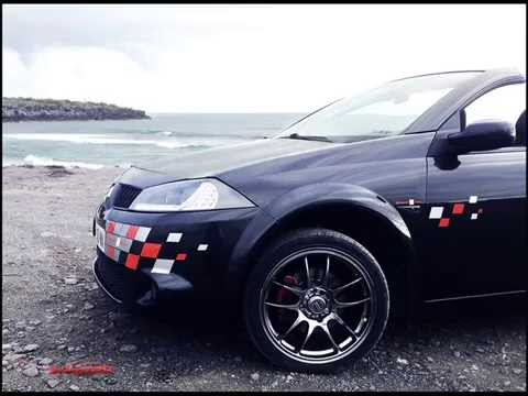 renault megane 2 cc rs tuning transformation wmv youtube. Black Bedroom Furniture Sets. Home Design Ideas