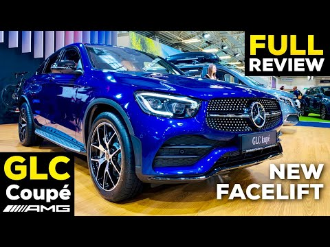 2020 MERCEDES GLC Coupé FACELIFT GLC 300 AMG Line MBUX NEW Review Better than BMW X4?!