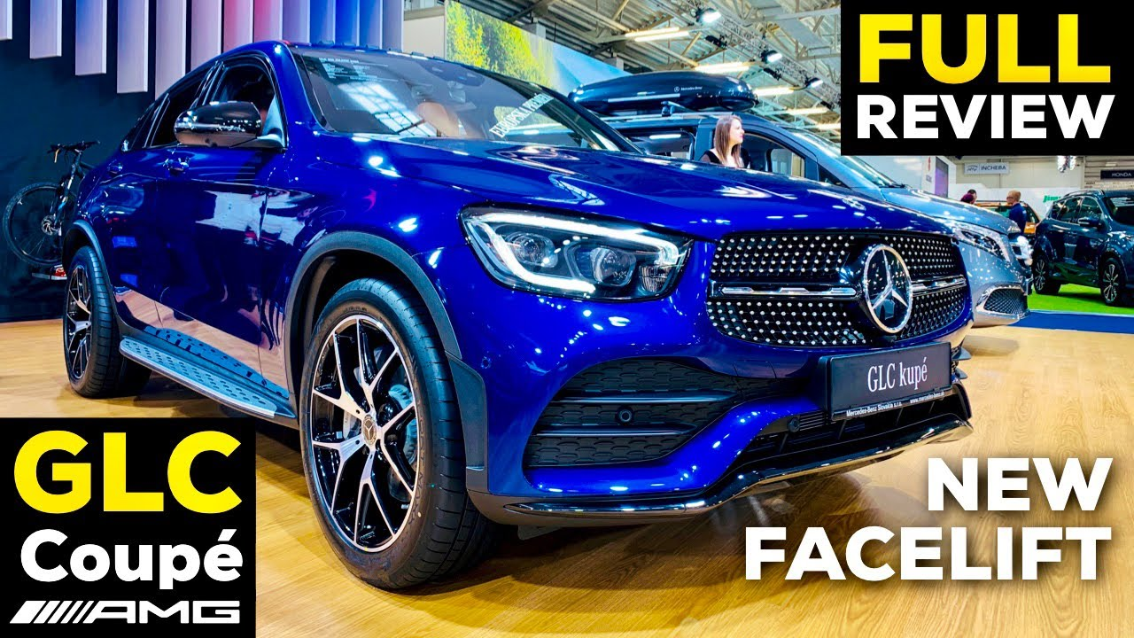 2020 Mercedes Glc Coupe Facelift Glc 300 Amg Line Mbux New Review