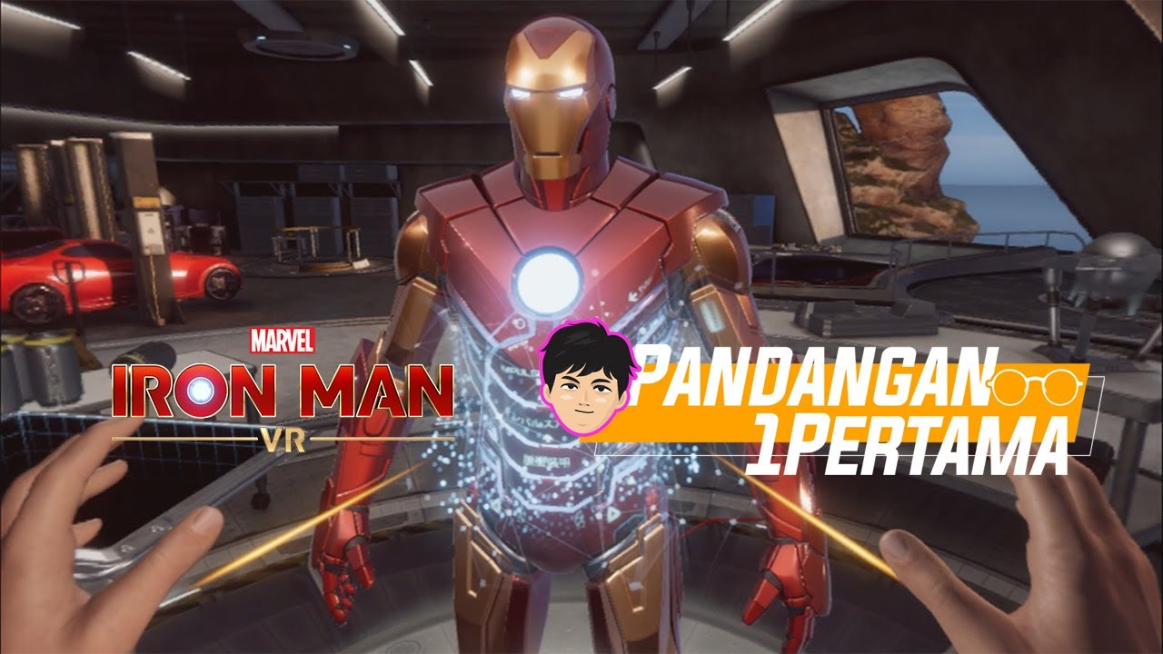 BACOTIN 28 Menit Marvel's Iron Man VR | Jadi Iron Man Beneran! | Pandangan Pertama