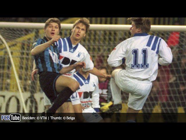 1994-1995 - Jupiler Pro League - 25. Club Brugge - AA Gent 3-2