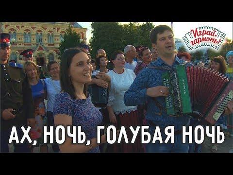 Играй, гармонь!   Елена и Сергей Пушкины (г.Саратов)   Ах, ночь, голубая ночь... (романс)