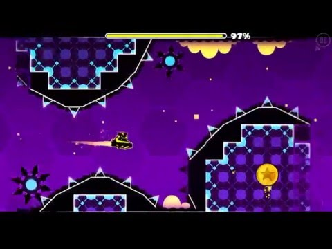 GEOMETRY DASH HEXAGON FORCE ALL COINS
