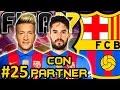 FIFA 17 FC Barcelona Modo Carrera  25   FICHO A HAZARD Y LA VENTA MILLONARIA   CON PARTNER