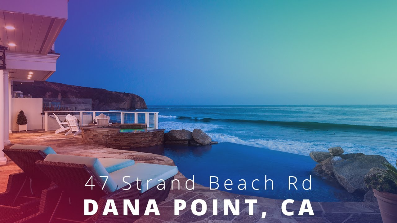 47 Strand Beach Drive Dana Point Ca