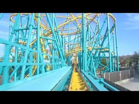 Poltergeist Front Row Seat on-ride HD POV Six Flags Fiesta Texas