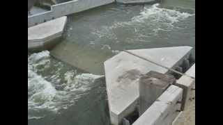 New Lincoln street dam & bridge project in Wichita KS