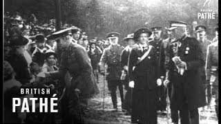 Sir Bryan Mahon Attends Ambulance Gathering (1914-1918)