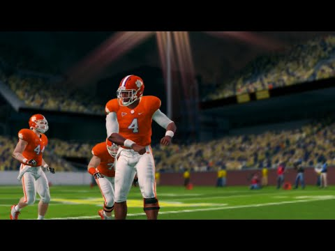NCAA Football 14 Season 2016 2017 Clemson Tigers vs Georgia Tech Yellow Jackets