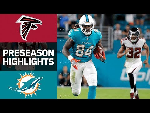 Falcons vs. Dolphins | NFL Preseason Week 1 Game Highlights