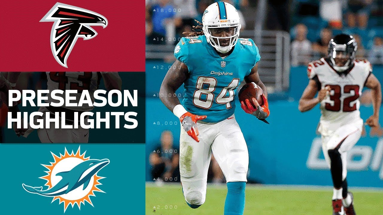 60ea7fb7 Falcons vs. Dolphins | NFL Preseason Week 1 Game Highlights