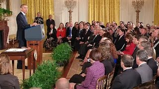 President Obama Signs the Clay Hunt Suicide Prevention for American Veterans Act