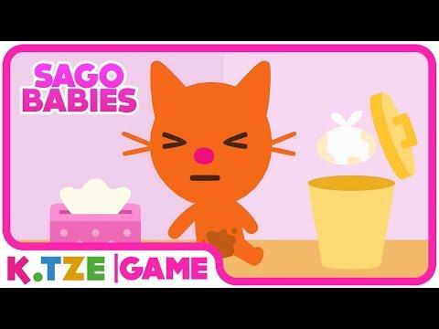 Sago Mini Babies 🐱 Apps für Kleinkinder | Katze Jinja