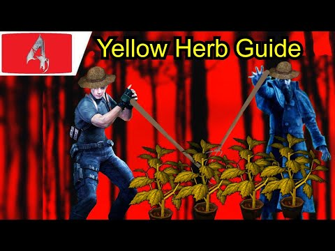 Resident Evil 4 All Yellow Herb Locations