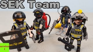 Playmobil SEK Team 9365 auspacken seratus1 Spezialeinsatzkommando