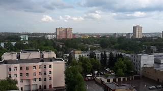 Дождливый день Москва