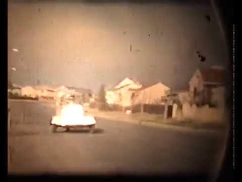 Lambretta, Messerschmitt Bubble Car and Honda 50 Sport from old Super 8 films