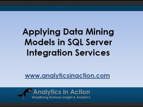 Applying Data Mining Models With  SQL Server Integration Services (SSIS)