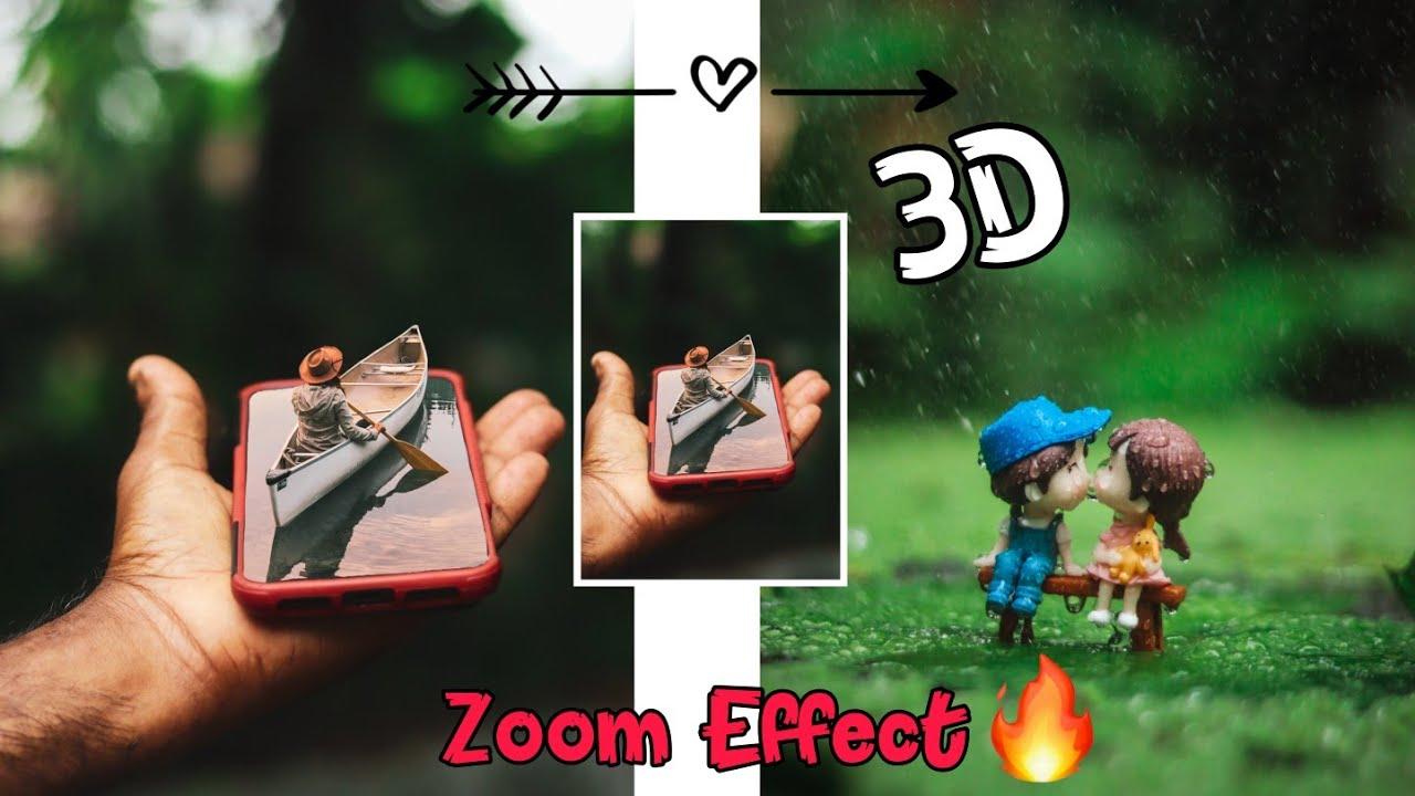 Viral 3D ZOOM EFFECT Tutorial || Trending 3D ZOOM Effect !! Capture kid