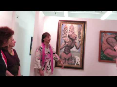 Alexander Kanevsky's New York City Montserrat Contemporary Art Gallery Sep 2013 exhibition. Part 2