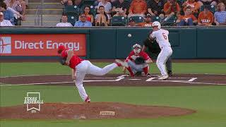 Texas Baseball vs Houston LHN Highlights [April 25, 2018]