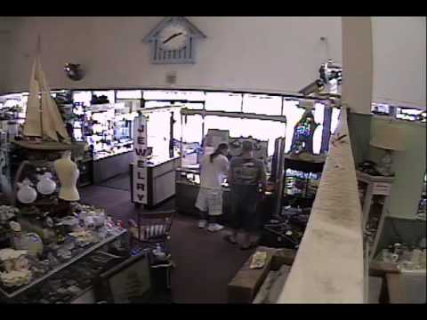 Suspects Burglarize Store After Casing Out the Business
