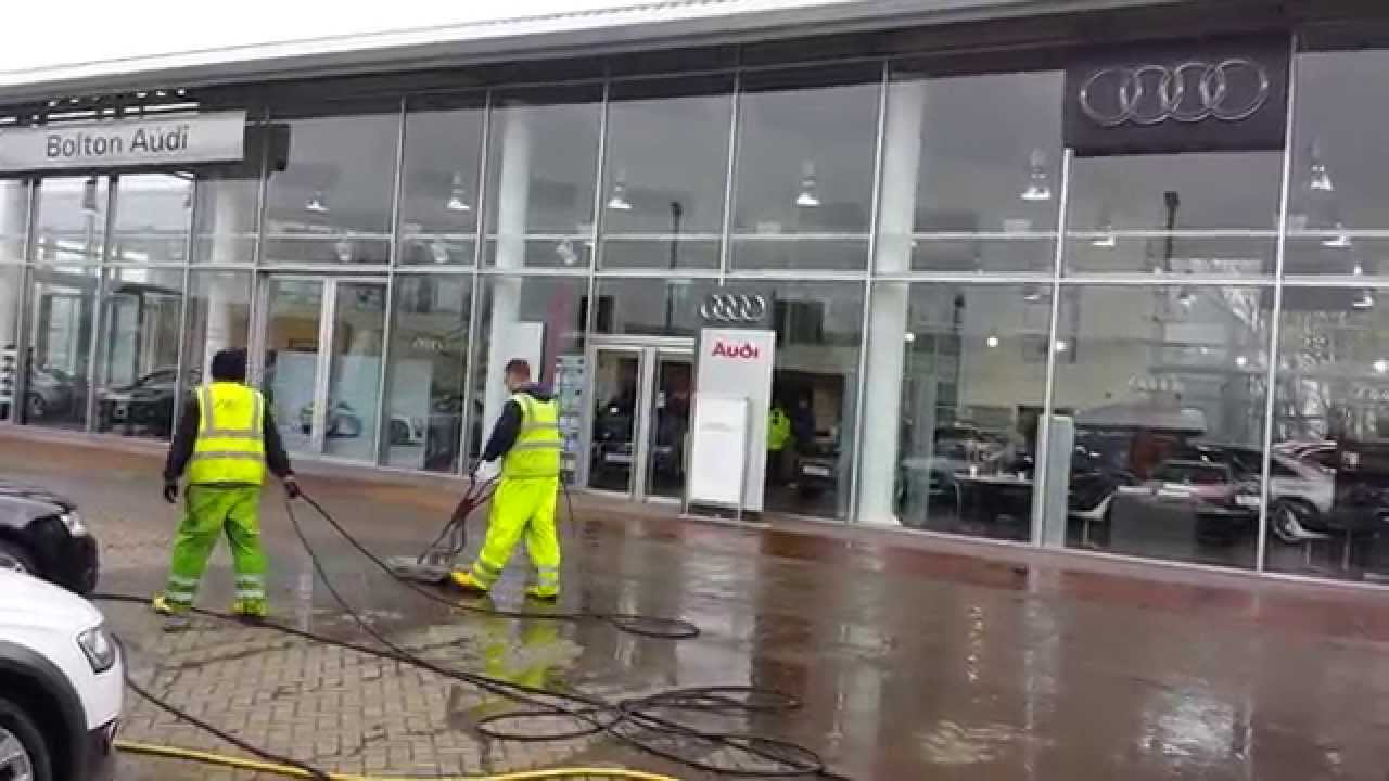Exterior Pressure Washing Building